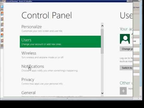 How to use the new Control Panel in Windows Server 2012 Beta