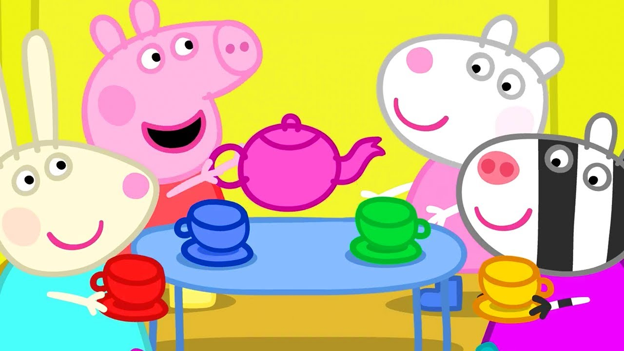 Peppa Pig Official Channel   Peppa's Tea Party in Her Treehouse