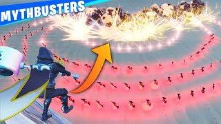 1000 Batarang Chain Explosion TRICK!! - Fortnite Daily Mythbusters Ep.2