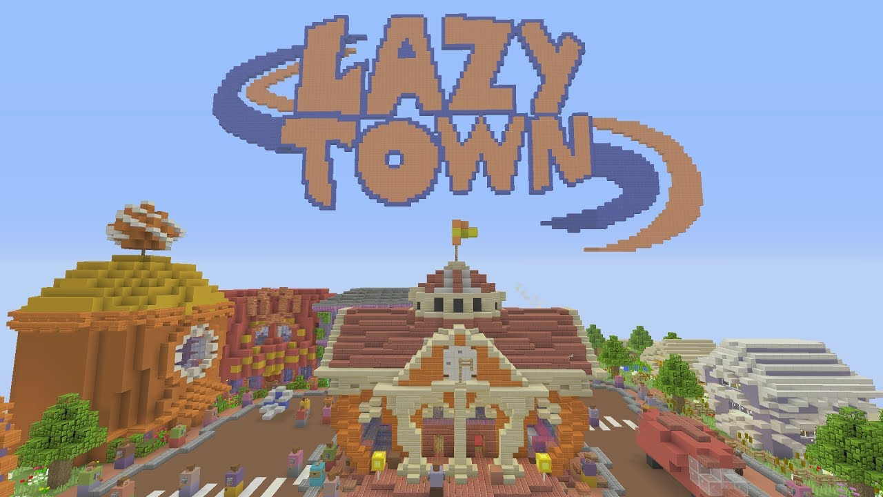 minecraft lazy town map download