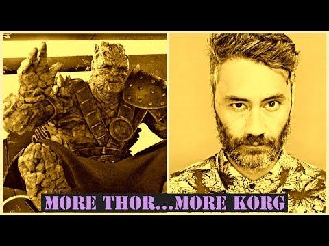 Taika Waititi Set To Return for Thor 4...More Korg Incoming
