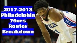 2017-2018 philadelphia 76ers roster breakdown: nba 2k18 rosters