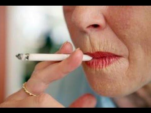 Envejecimiento de la piel por el tabaco.