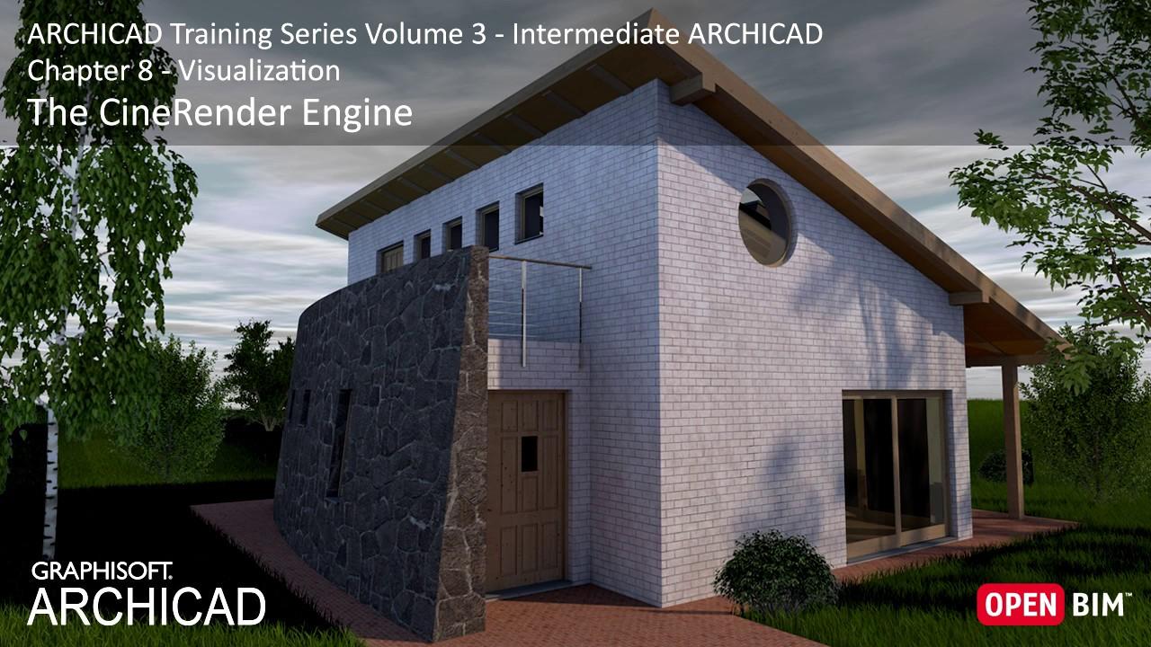Cinerender Engine Archicad Training Series 3 43 52
