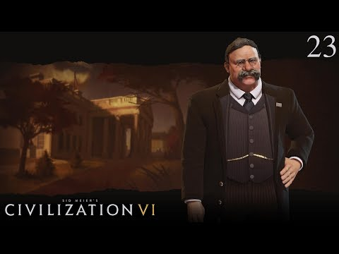 Civilization VI - Let's Play as America #23 (Deity)
