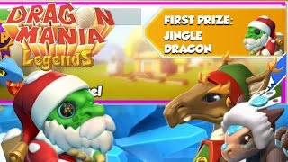 Baixar Jingle, Helper and ARCTIC Dragon Weekend Events! - Dragon Mania Legends #336