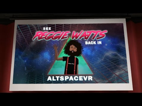Reggie Watts Live! - Back In AltSpaceVR - Sep/14/16