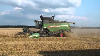 The new Fendt combines 9490 x in the field testing