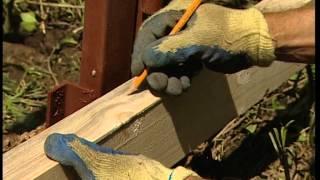 видео Высота забора из профнастила, оптимальная для строительства и установки листов
