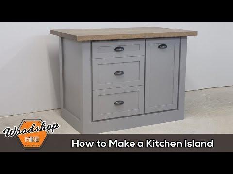 Farmhouse Kitchen Island | How to Make