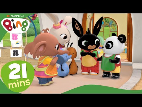 Bing - At the Crèche | Compilation from Bing Episodes | Videos For Kids | Bing Bunny