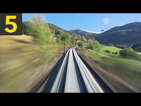 Top 5 Relaxing Train Videos - POV