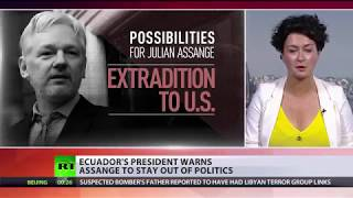 Assange: Ecuador can be 'confident' WikiLeaks will publish any evidence of corruption