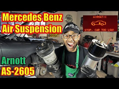 How To Install Air Suspension | Airmatic Suspension Replacement | Mercedes Benz S Class W220