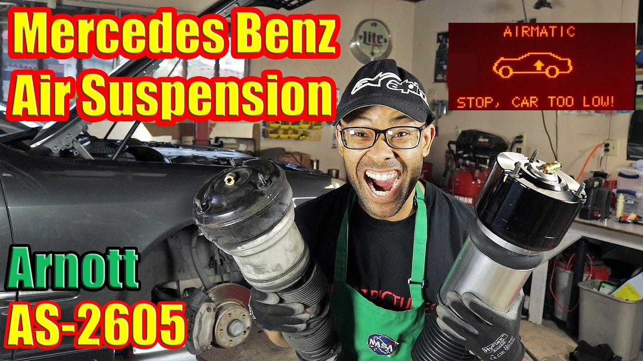 How To Install Air Suspension   Airmatic Suspension Replacement   Mercedes  Benz S Class W220