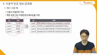 Node.js 프로그래밍 23강 보안 | T아카데미
