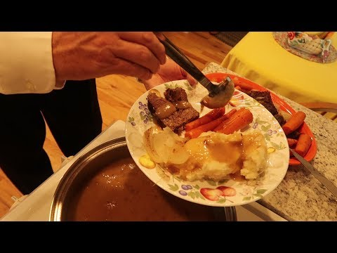 """""""How To Cook an Entire Roast Beef Dinner,"""" Step By Step Instructions"""