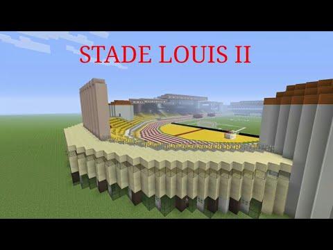 Minecraft : Stade Louis 2 - AS Monaco