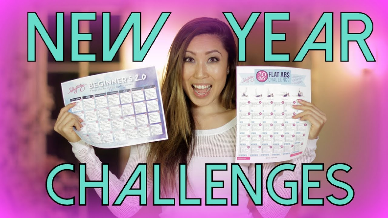 30 Day Flat Abs Challenge for 2015! - YouTube