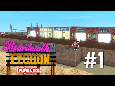 BOARDWALK TYCOON #1 - BEACH KING (Roblox Boardwalk Tycoon)