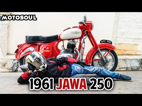 1961 Jawa 250 - The History And Exhaust Sound
