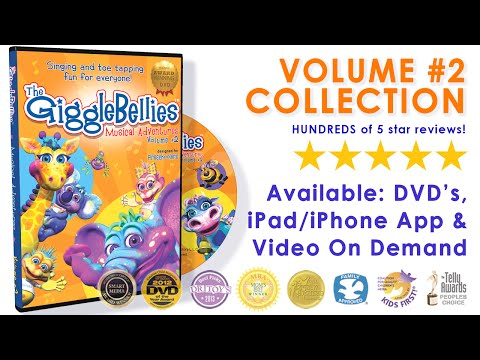 Vol. #2 Video Collection | DVD & VOD Trailer | GiggleBellies from YouTube · Duration:  3 minutes 44 seconds
