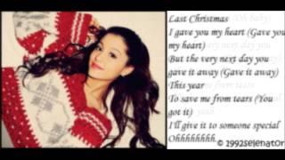 Ariana Grande - Last Christmas (LYRICS ON SCREEN!)