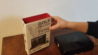 R Motion Golf Simulator Unboxing