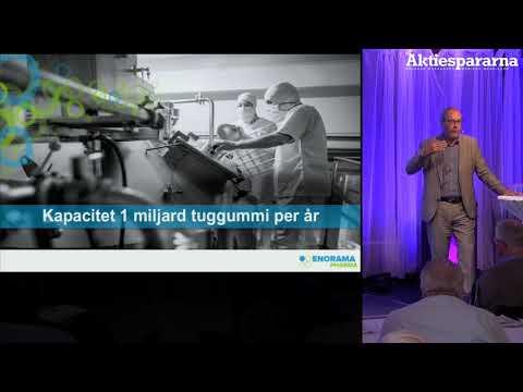 Aktiedagen Stockholm – Enorama Pharma