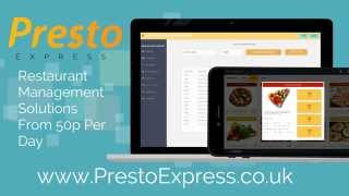 Presto express makes food service, ordering, billing in restaurants and restaurant management quick easy. whether you need ser...