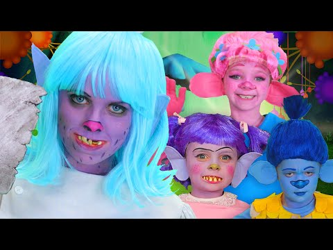 Trolls Finger Family | Trolls - Halloween Team