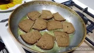 Готовим гренки с чесноком