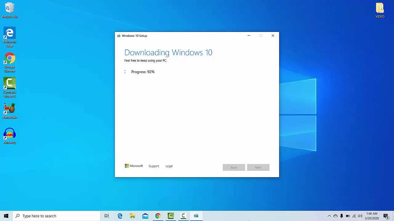 Windows 10 PRO Free Download ISO 32 Bit And 64 Bit Directly From Microsoft TUTORIAL 2020