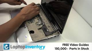 HP Pavilion Touchpad Replacement DV4 DV5   Touch Pad Buttons, Bezel Laptop Install Replace, Fix