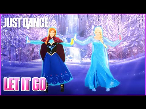 Just Dance 2015: Let It Go from Disney's Frozen    Track Gameplay [US]