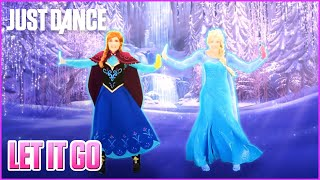 Just Dance 2015 Let It Go from Disneys Frozen  Track Gameplay US