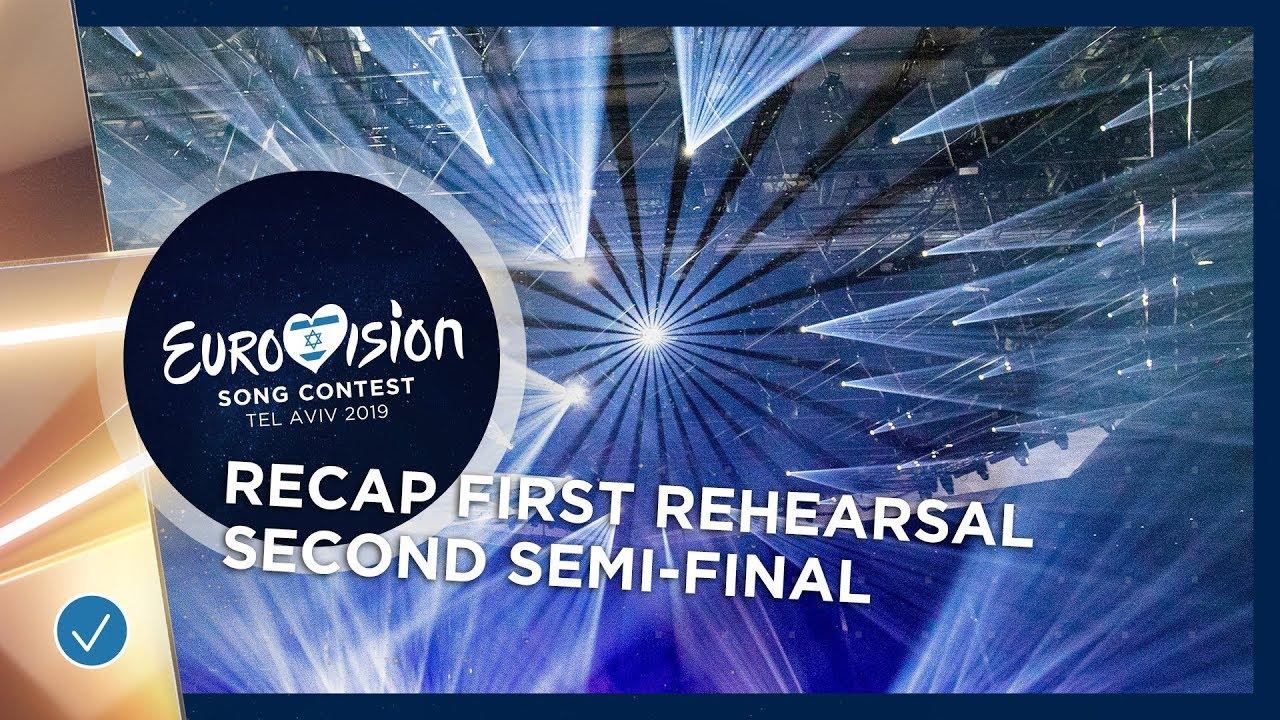 Првите проби на евровизиските учесници во втора полуфинална вечер – во едно видео
