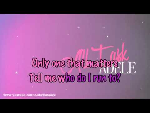 Adele - All I Ask [Karaoke/Instrumental]