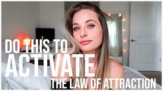 DO THIS 1 THING TO ACTIVATE THE LAW OF ATTRACTION | Alignment Made Easy | Renee Amberg