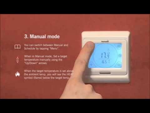 Thermonet Touchscreen Thermostat: Easy Setup Guide