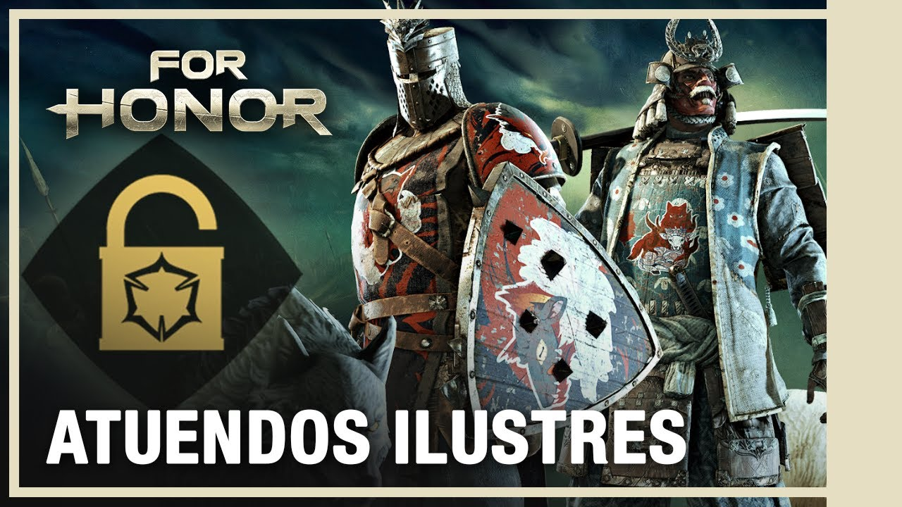 For Honor - Nuevos Atuendos Ilustres y Ejecuciones