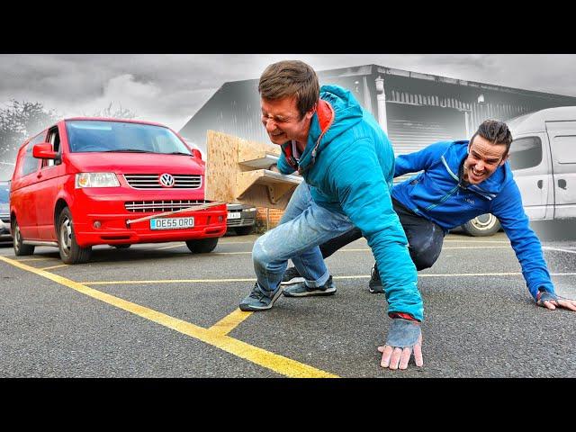 Climbers Grip VS. 4 tonne Double Van Pull