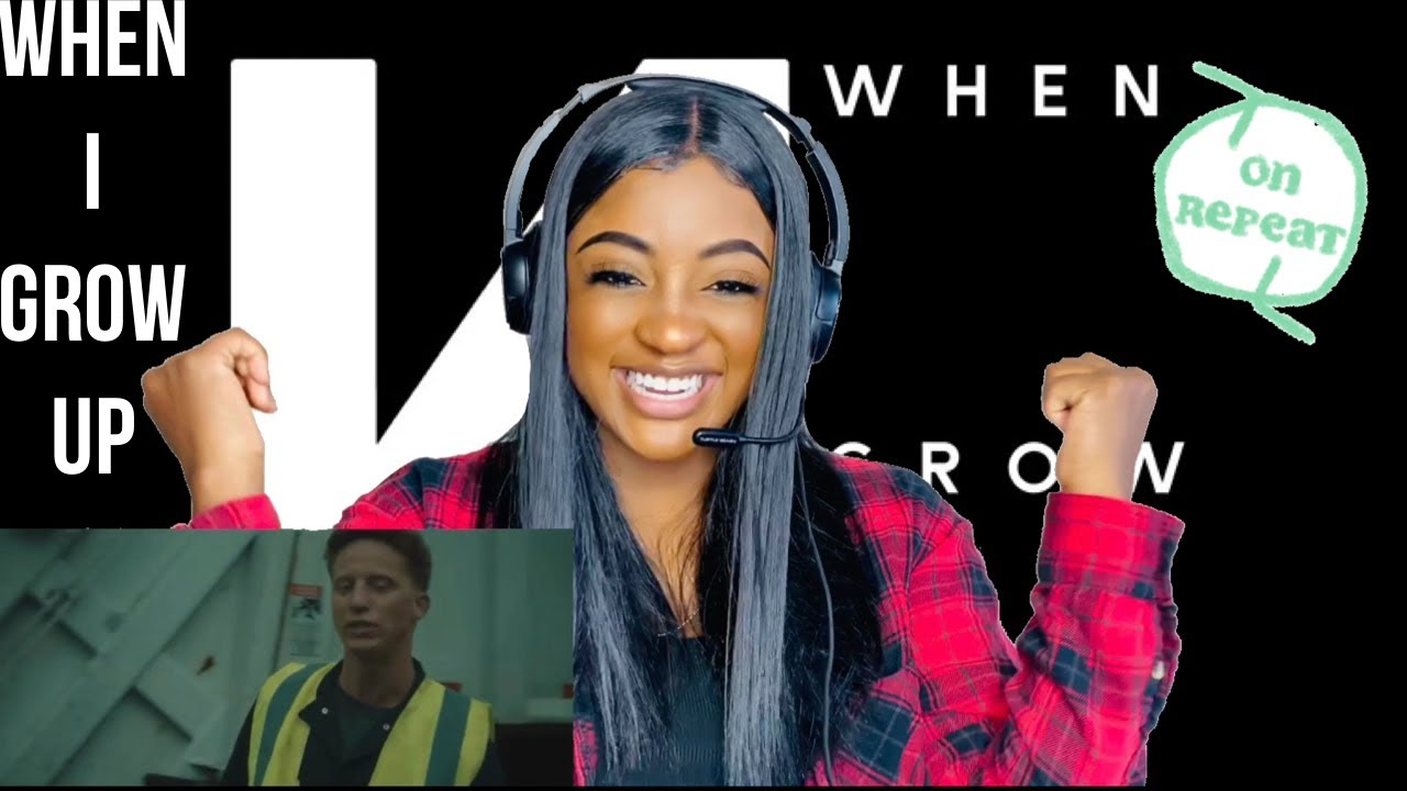 """THE NF  JOURNEY CONTINUES!! - """"WHEN I GROW UP"""" (REACTION)"""