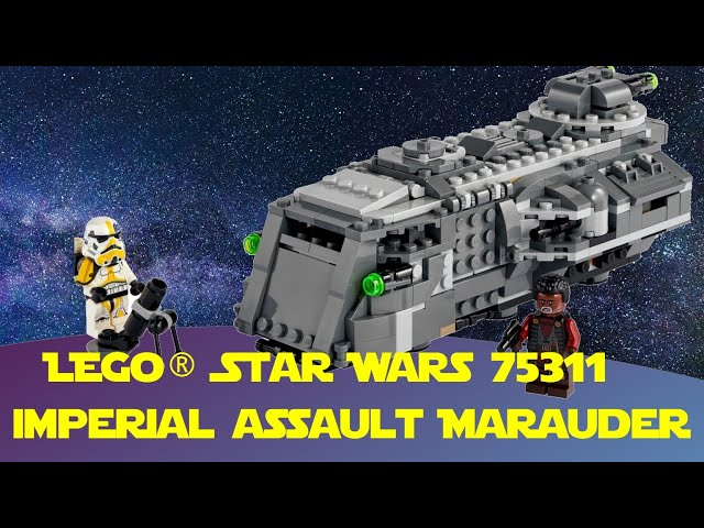 Imperial Assault Marauder Lego Star Wars 75311