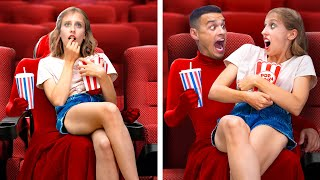 22 Funny and Awkward Movie Theater Situations