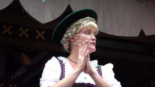Epcot - Holiday Storyteller - Germany - Helga...