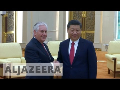 Rex Tillerson pledges closer US-China ties