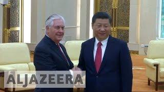 Rex Tillerson pledges closer US-China ties