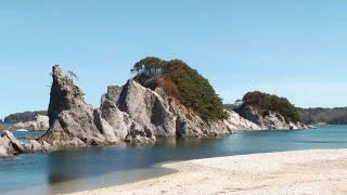 震災後の松島・浄土ヶ浜・北山崎 Famous coast scenic sites after the Tsunami