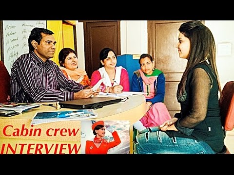 AIRLINE Interview Videos - Cabin Crew Interview - Air hostess preparation